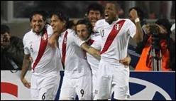 Integrantes de la Selección Peruana de Fútbol