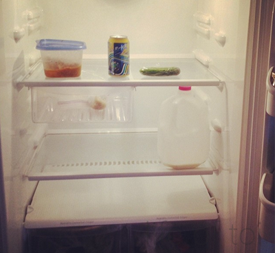 my week 8 fridge