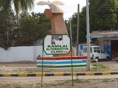 Jammeh's &quot;Alternative&quot; clinic. Alternative to what? Don't ask