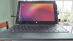 Ubuntu su Microsoft Surface Pro