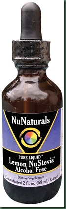 Liquid Lemon NuStevia Alcohol Free