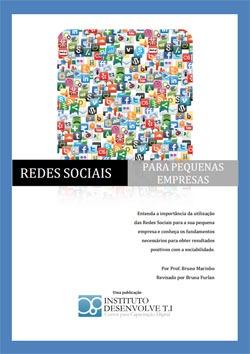 Capa ebook Redes Sociais para pequenas empresas