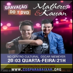 CD Matheus e Kauan - Ao Vivo (2013), Baixar Cds, Download, Cds Completos