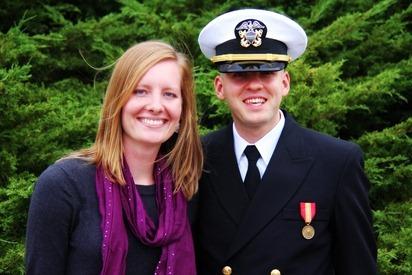 Mark Navy OCS Grad 25