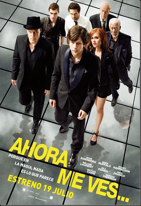 ahora_me_ves_cartel_poster