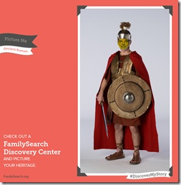 FamilySearch Discovery Center - Photo in historic costume