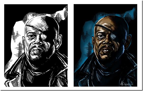 Nick Fury,Nicholas Joseph,Samuel L. Jackson, David Hasselhoff (11)