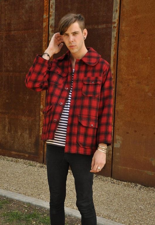 Vintage Woolrich Check Hunting Jacket, £70, Peace Corps.