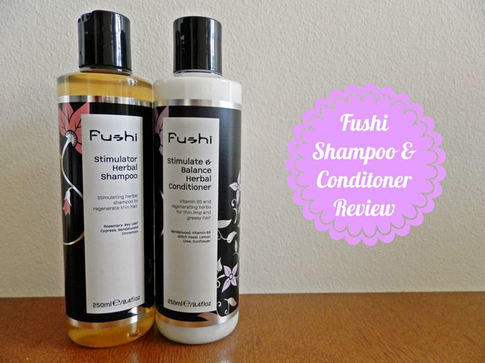 Fushi shampoo and conditioner