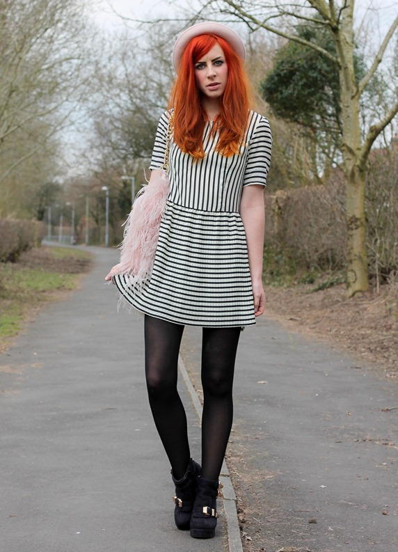 MINKPINK STRIPE DRESS