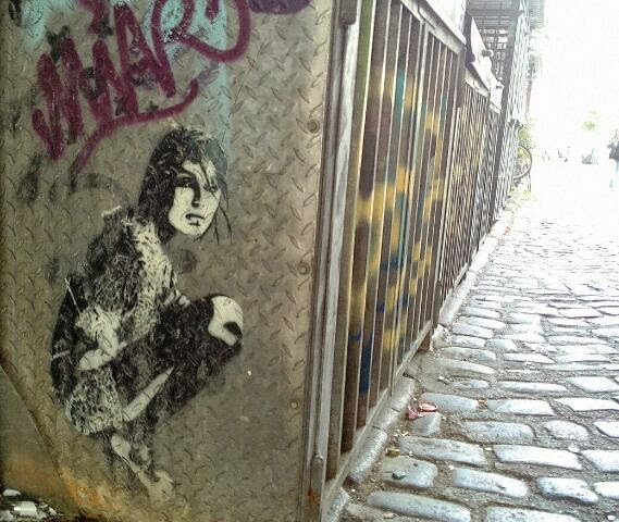 paste up street art hamburg