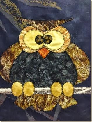owl appliqued