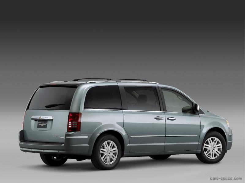 2009 chrysler town and country minivan specifications pictures prices. Black Bedroom Furniture Sets. Home Design Ideas