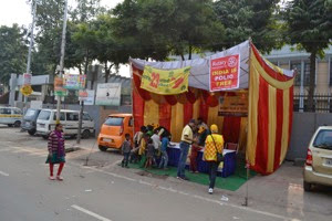 Delhi Camp Street Stall Start