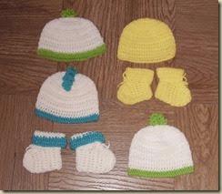 Bon bon hats sets