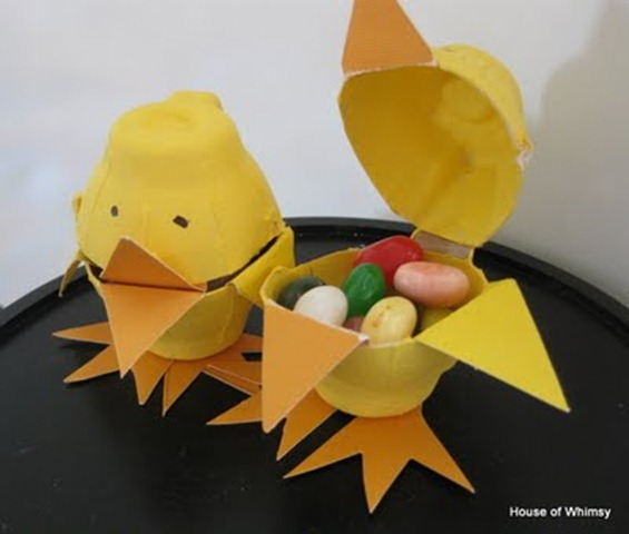 1 easter chick craft