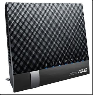 ASUS RT-AC56U 正面板菱格紋