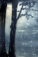Screenshot of Wonderful Rain Live Wallpaper
