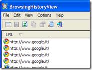 Vedere la cronologia internet di 4 browser di tutti gli utenti PC o di quello specificato
