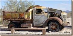 Old dump Truck.
