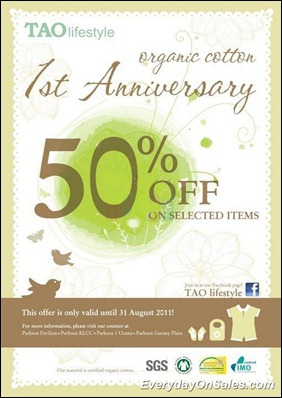 Tao-Lifestyle-Organic-Cotton-Anniversary-2011-EverydayOnSales-Warehouse-Sale-Promotion-Deal-Discount