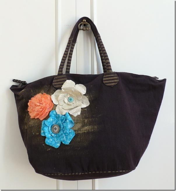 cafe creativo - sizzix big shot - flowers bag (1)
