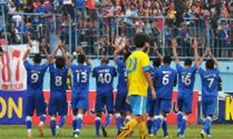 Hasil Pertandingan Arema Indonesia Vs Persegres Gresik United (2-1)