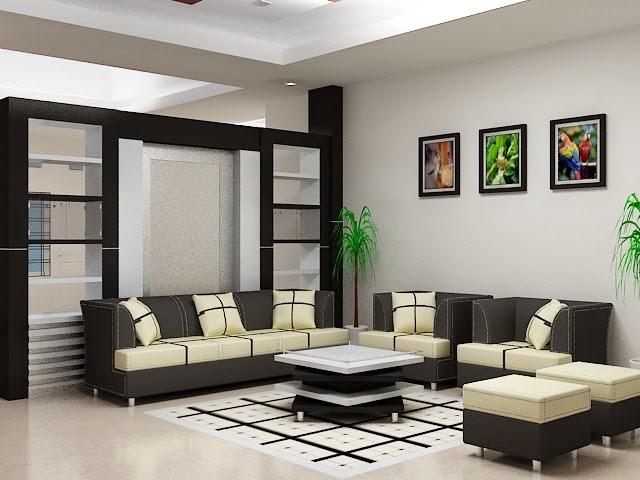 ruang tamu rumah minimalis modern