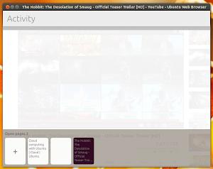 Webbrowser App su Ubuntu 13.10