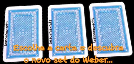 Escolha a carta e descubra o novo set do Weber (lassoares-rct3)