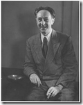Portrait of Bohuslav Martinů, U.S.A., New York 1945