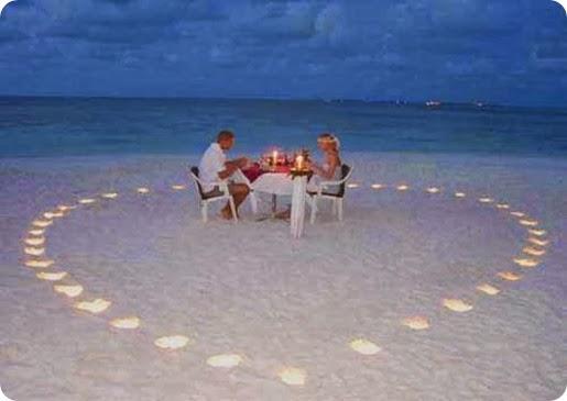 Honeymoon destination in Maldives