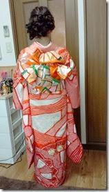 着付師 太田さんが、ご自宅に出張着付け (3)