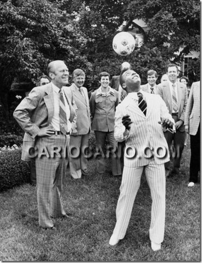 Gerald Ford e Pele