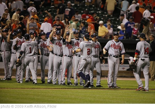 'Atlanta Braves' photo (c) 2009, Keith Allison - license: http://creativecommons.org/licenses/by-sa/2.0/