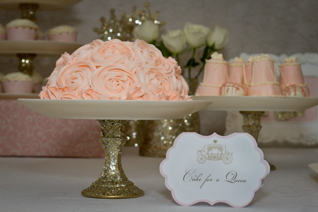 Rose Princess Cake
