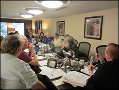 Winn grant review meeting