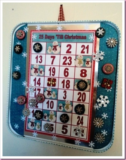 Baking Tray Advent Calendar 7