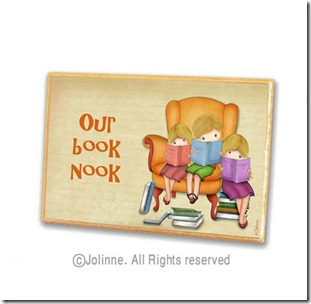 Our Book Nook Personalized Sign
