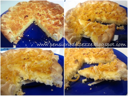 Crostata Ricotta e Cocco al profumo di Arancia 1