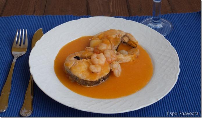 merluza en salsa espe saavedra