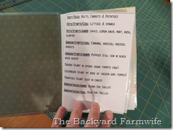 seed book - The Backyard Farmwife