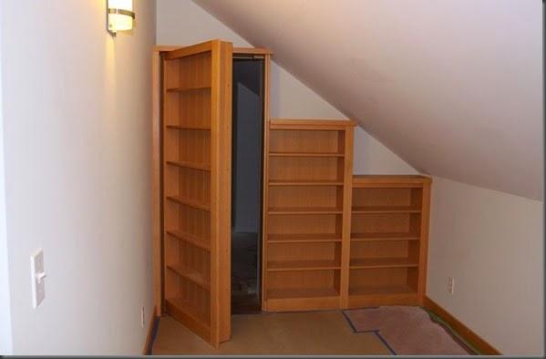 Biblioteca con puerta secreta1