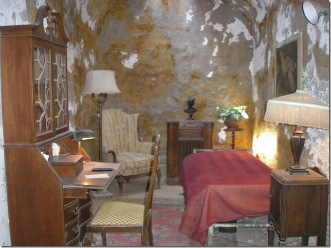 Al Capone's cell at Eastern State, Philadelphia, PA