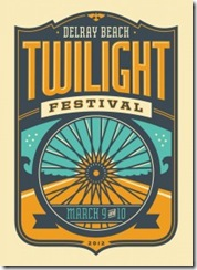 Delray Beach Twilight Festival Logo