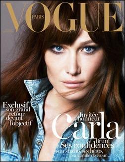 Carla Bruni Vogue