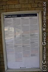 Fahrplan an meiner Station
