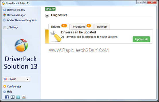 DriverPack Solution 13 - 2013