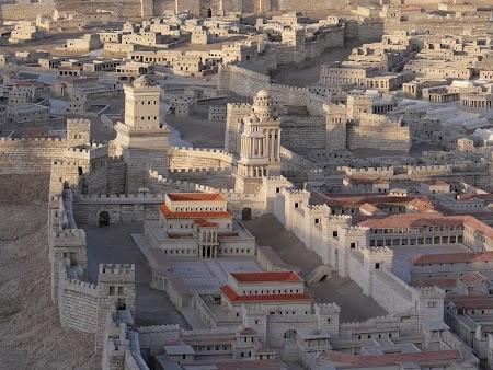 Imagini Israel: Macheta Ierusalim