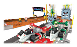 K`Nex Mario Kart Wii series continues, 13 more sets released.